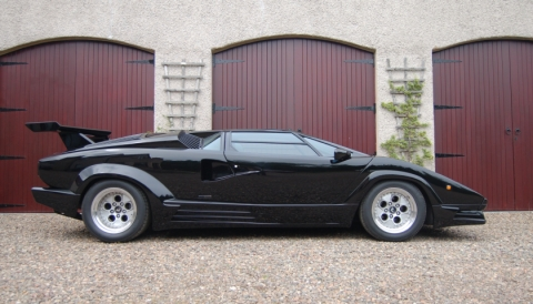 lamborghini countach qv 25th anniversary top gear specialist cars. Black Bedroom Furniture Sets. Home Design Ideas